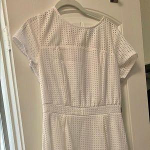 NY & Co white dress never worn